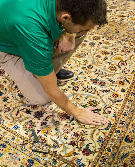 Professional Area and Oriental Rug Cleaning by Old Fort Chem-Dry in Fort Smith AR